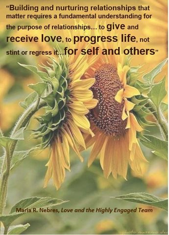 The Whisper on Relationships Through Sunflowers (by Maria R. Nebres article September 9 2019)